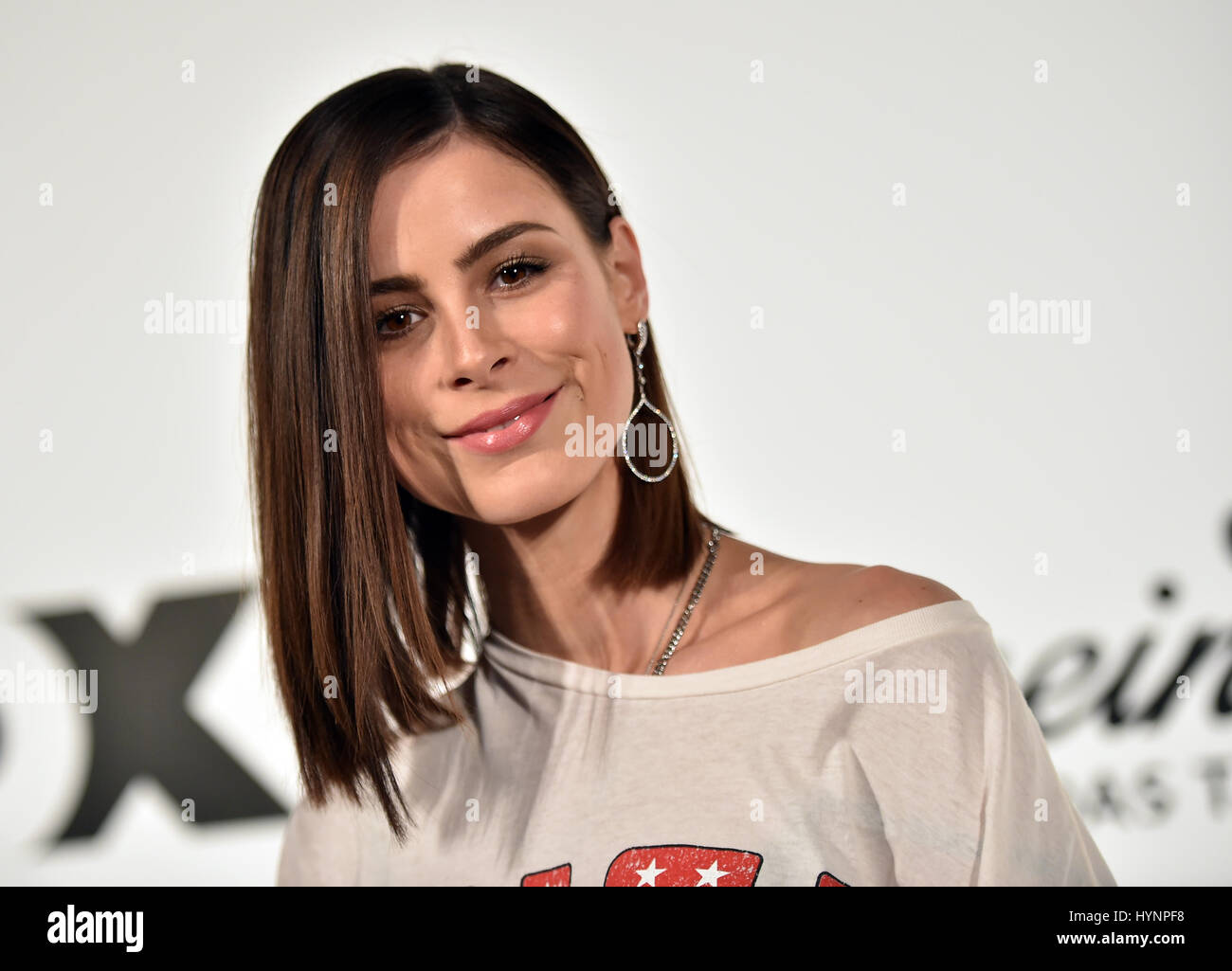Berlin Germany 05th Apr 2017 German Singer Lena Meyer Landrut