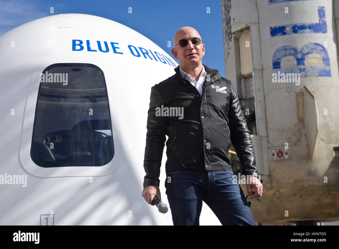 Colorado Springs Usa 05th Apr 2017 Amazon And Blue Origin