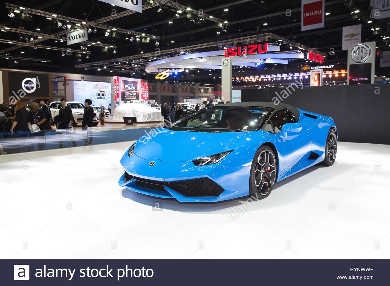 Lamborghini Car On Display Thailand Stock Photos Lamborghini Car