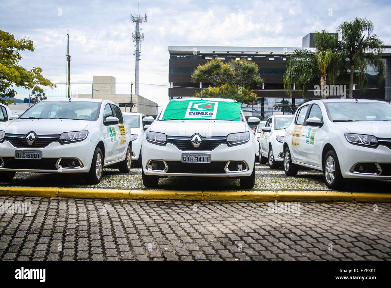 FLORIAN'POLIS, SC - 06.04.2017: DELIVERY OF 41 NEW VEHICLES CIDASC - © River Ministries of Agriculture, - Stock Image