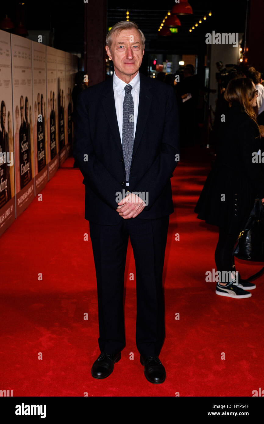 London, UK. 6th April, 2017. The UK premiere of THE SENSE OF AN ENDING on 06/04/2017 which took place at Picturehouse - Stock Image