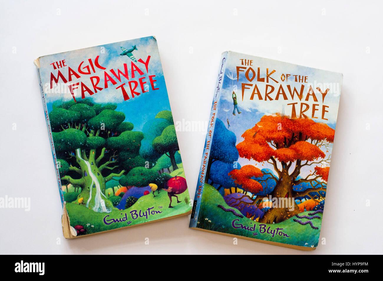 Enid Blyton - Magic Faraway Tree Book - Stock Image