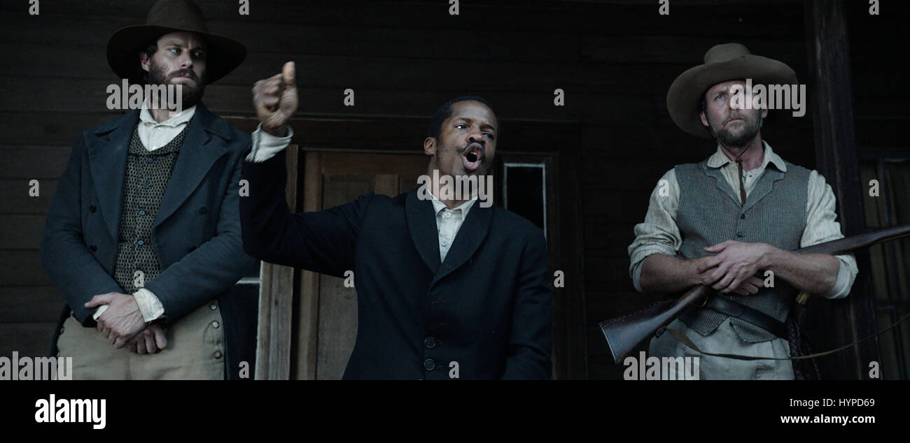 THE BIRTH OF A NATION (2016)  ARMIE HAMMER  NATE PARKER  JAYSON WARNER SMITH  NATE PARKER (DIR)  20TH CENTURY FOX/MOVIESTORE - Stock Image