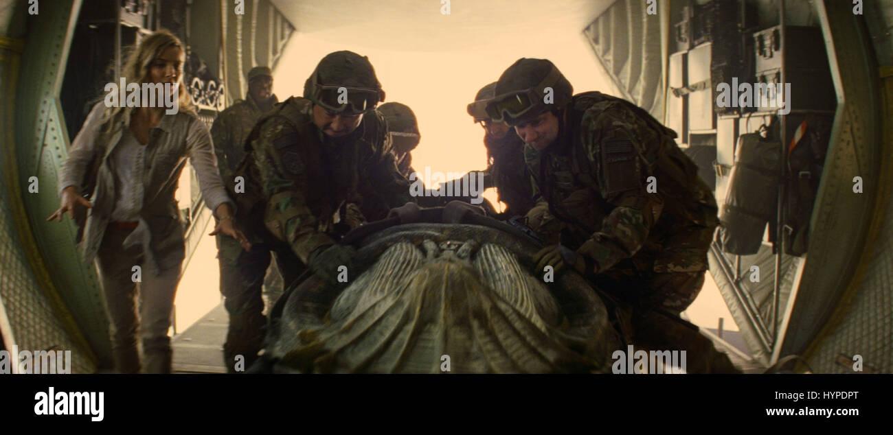 THE MUMMY (2017)  ANNABELLE WALLIS  ALEX KURTZMAN (DIR)  UNIVERSAL PICTURES/MOVIESTORE COLLECTION LTD - Stock Image