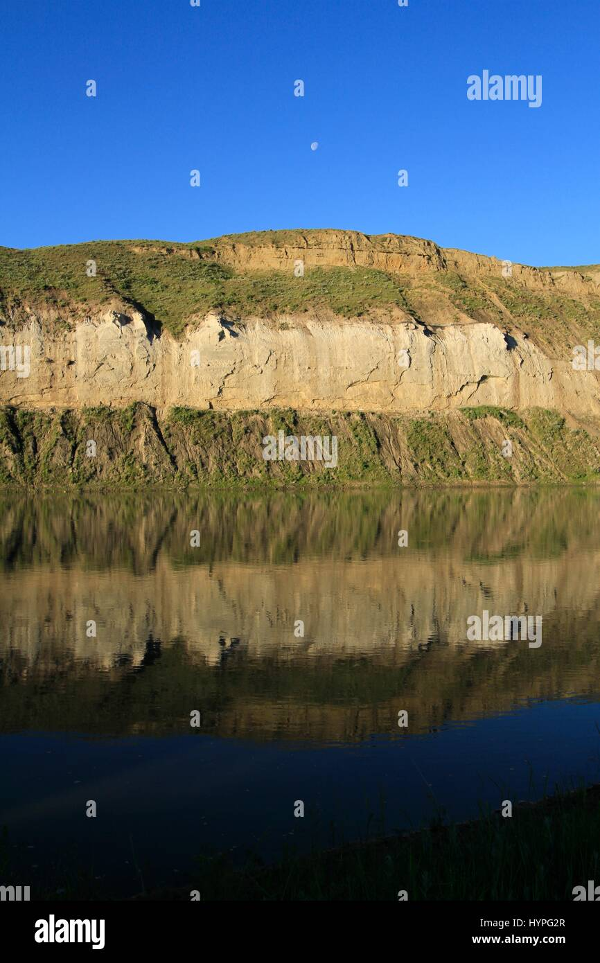 White Cliffs, Missouri River Breaks National Monument, Montana, USA - Stock Image