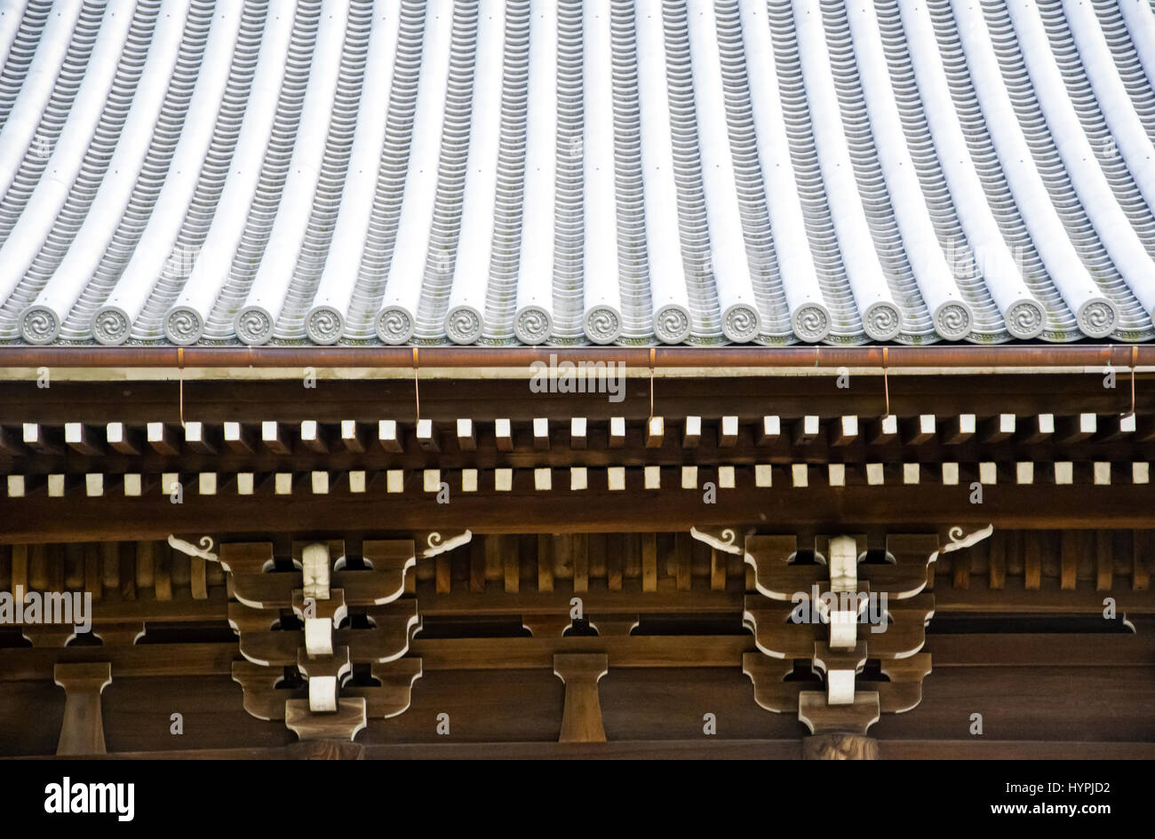 Details Of Japanese Temple Roof Architecture Kyoto Japan Stock - Architecture-design-in-kyoto-japan