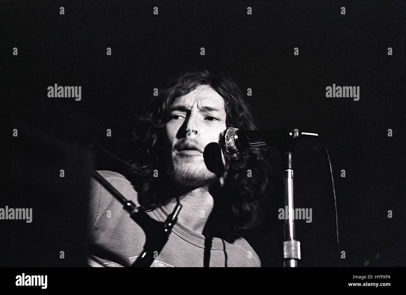 Steve Winwood performs with UK rock band Traffic in the Anson Rooms, Bristol University Students Union, on 25 April - Stock Image