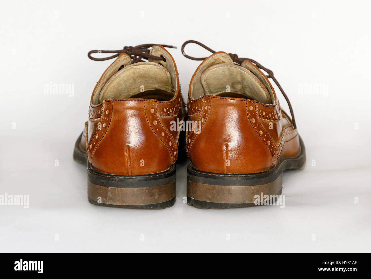 5c172158 Brown Dress Shoes Stock Photos & Brown Dress Shoes Stock Images - Alamy