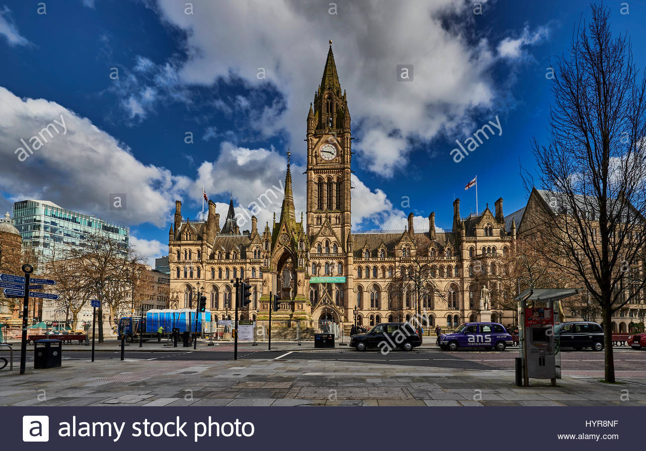Manchester City Council - Stock Image
