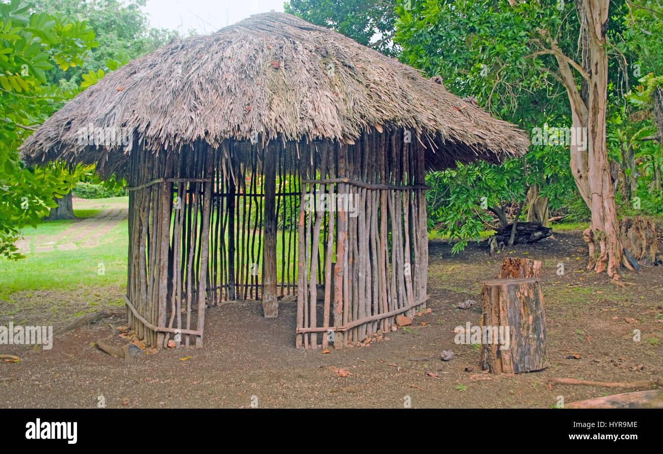 Seville Heritage Park Taino House Jamaica Caribbean
