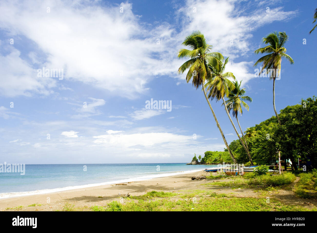 Duquesne Bay, Grenada - Stock Image