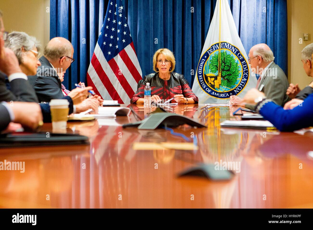 Betsy Devos Is No Horace Mann Column >> Political Education Stock Photos Political Education Stock