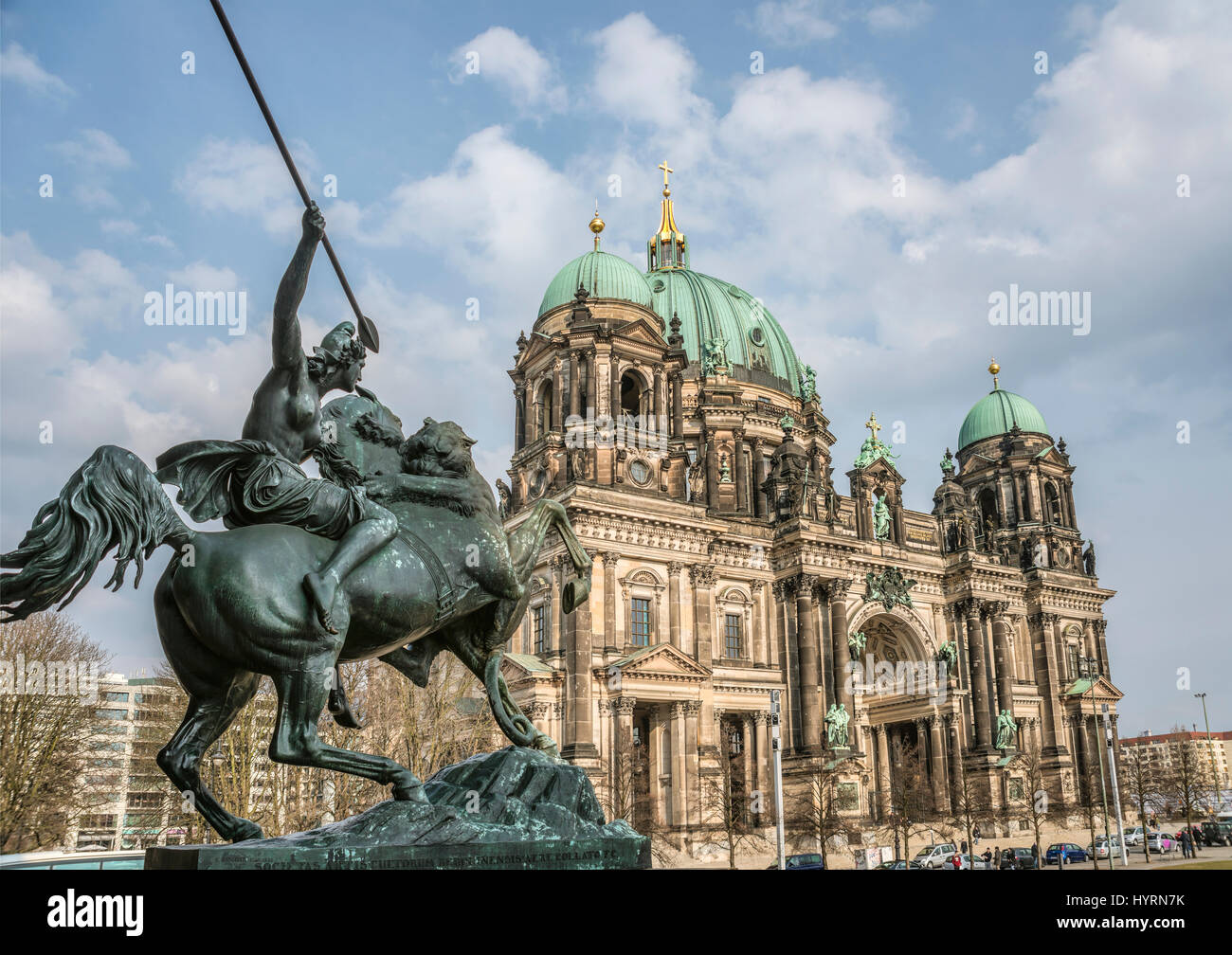 Berliner Dom, Deutschland | Berlin Cathedral, Germany - Stock Image