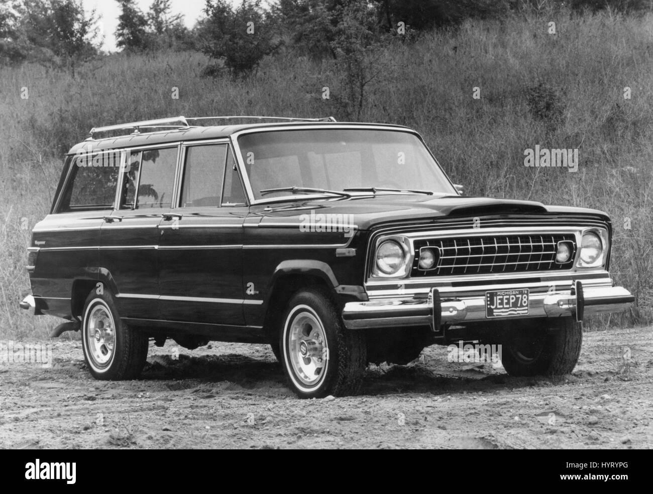 1978 Jeep Wagoneer - Stock Image