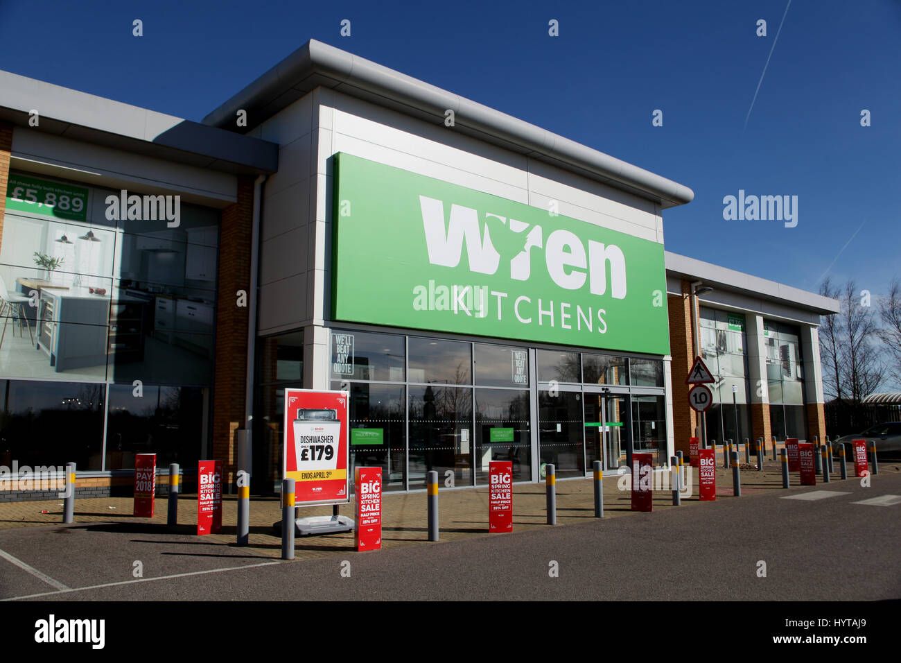 Southend, Essex, 25 March 2017   Wren Kitchens Store