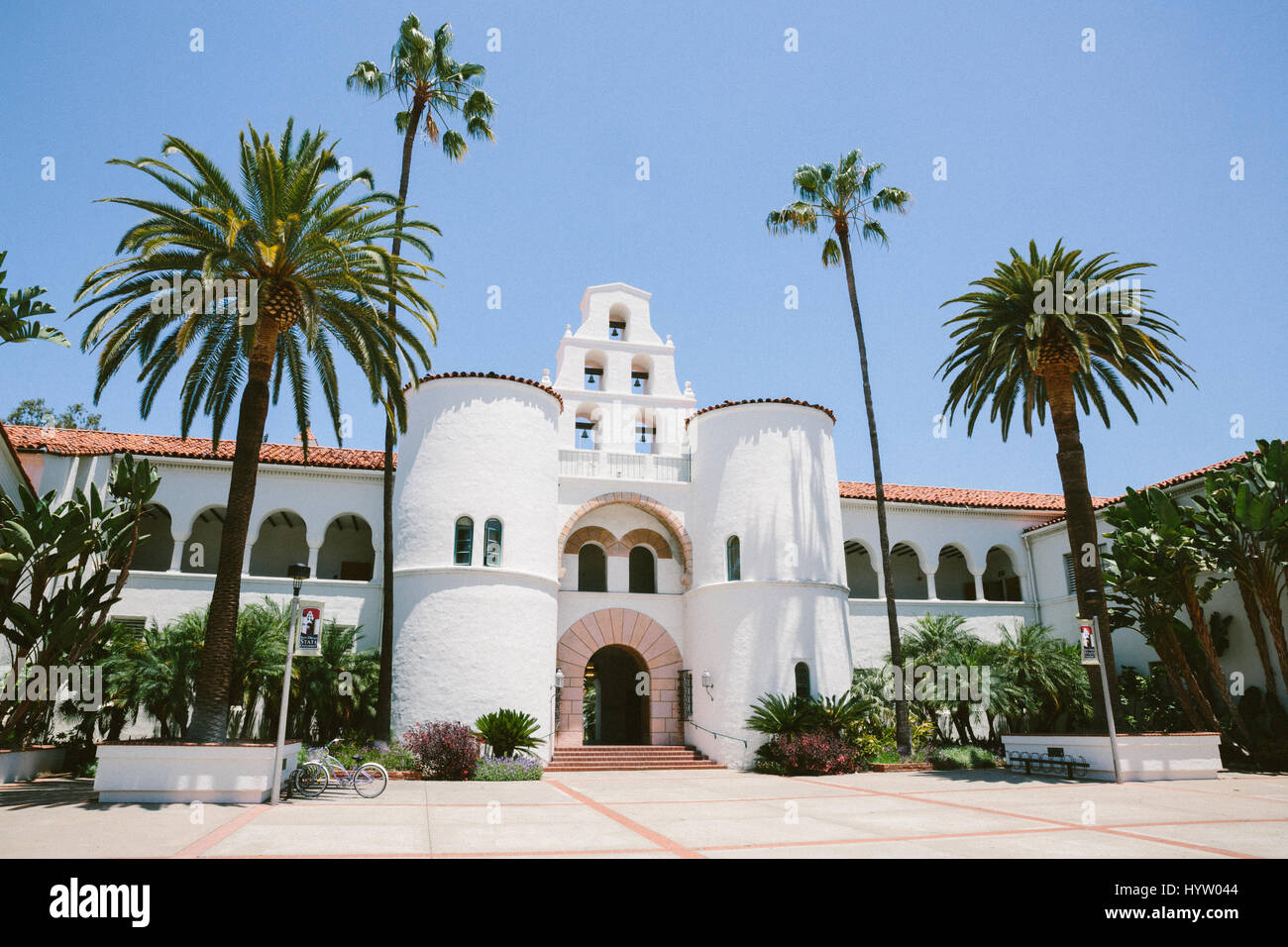 Hepner Hall at San Diego State University (SDSU), California, USA - Stock Image