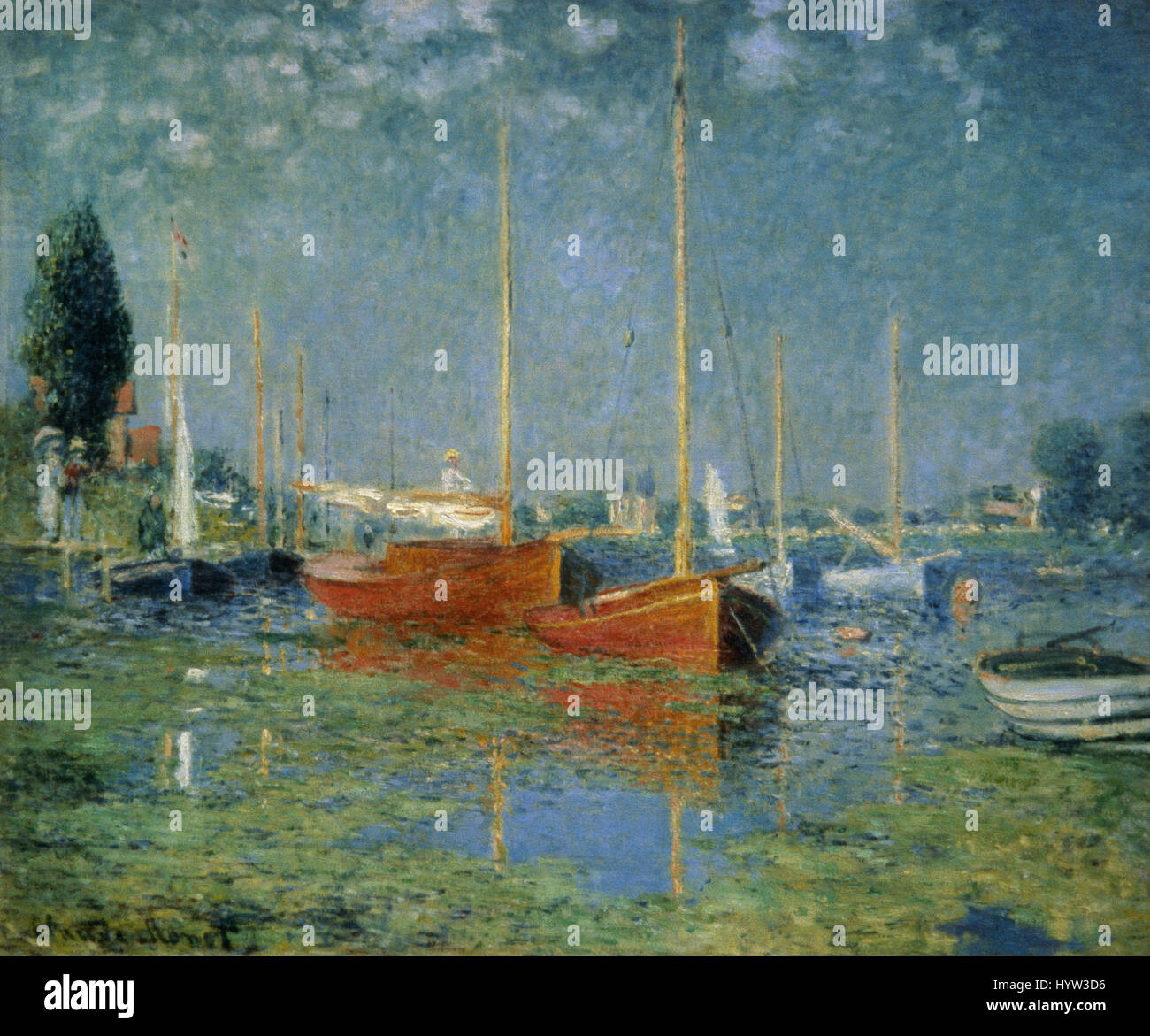 Impressionism Paris: Claude Monet (1840-1926). French Painter. Impressionism