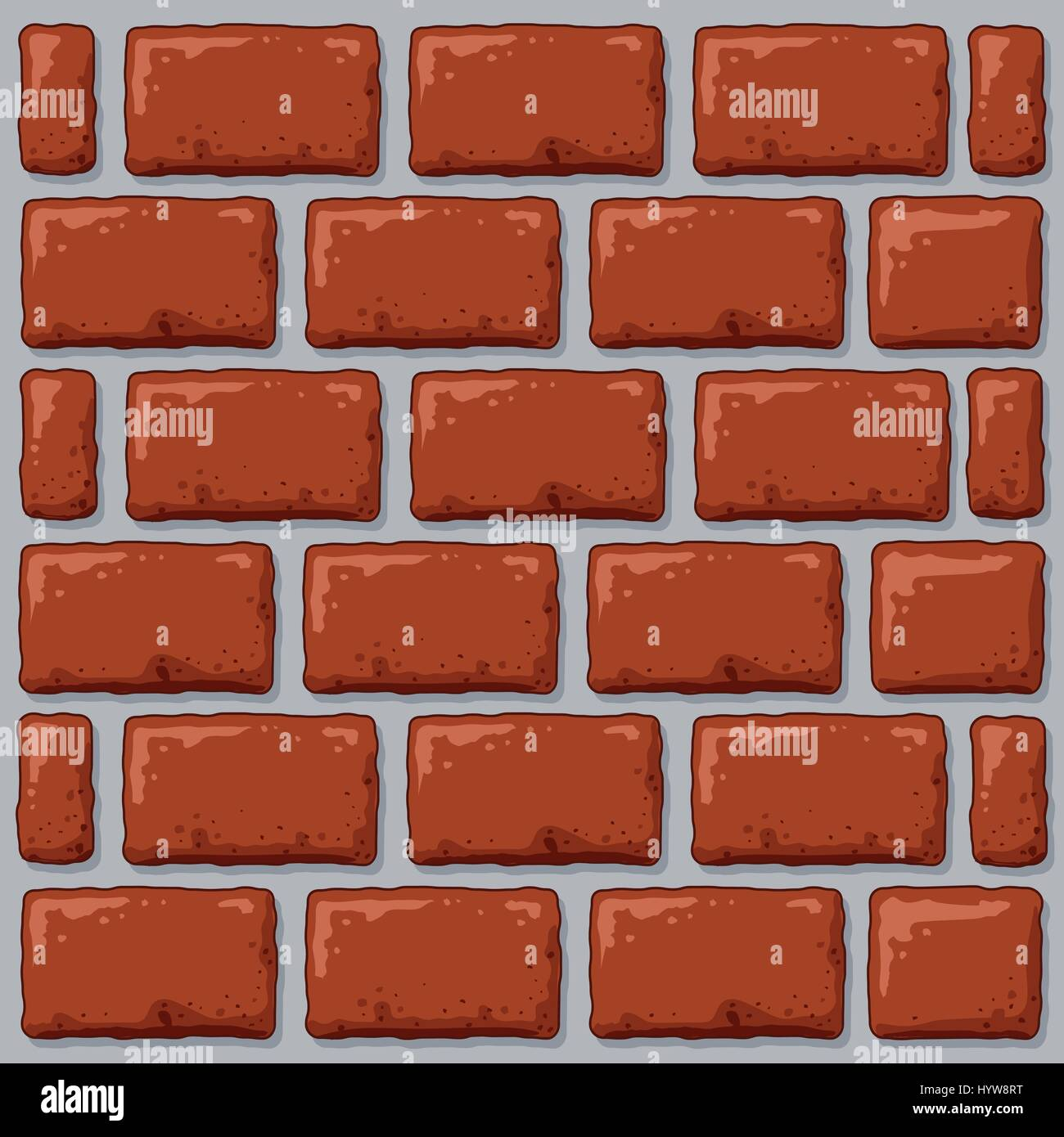 a cartoon backdrop of a brick wall stock vector art illustration