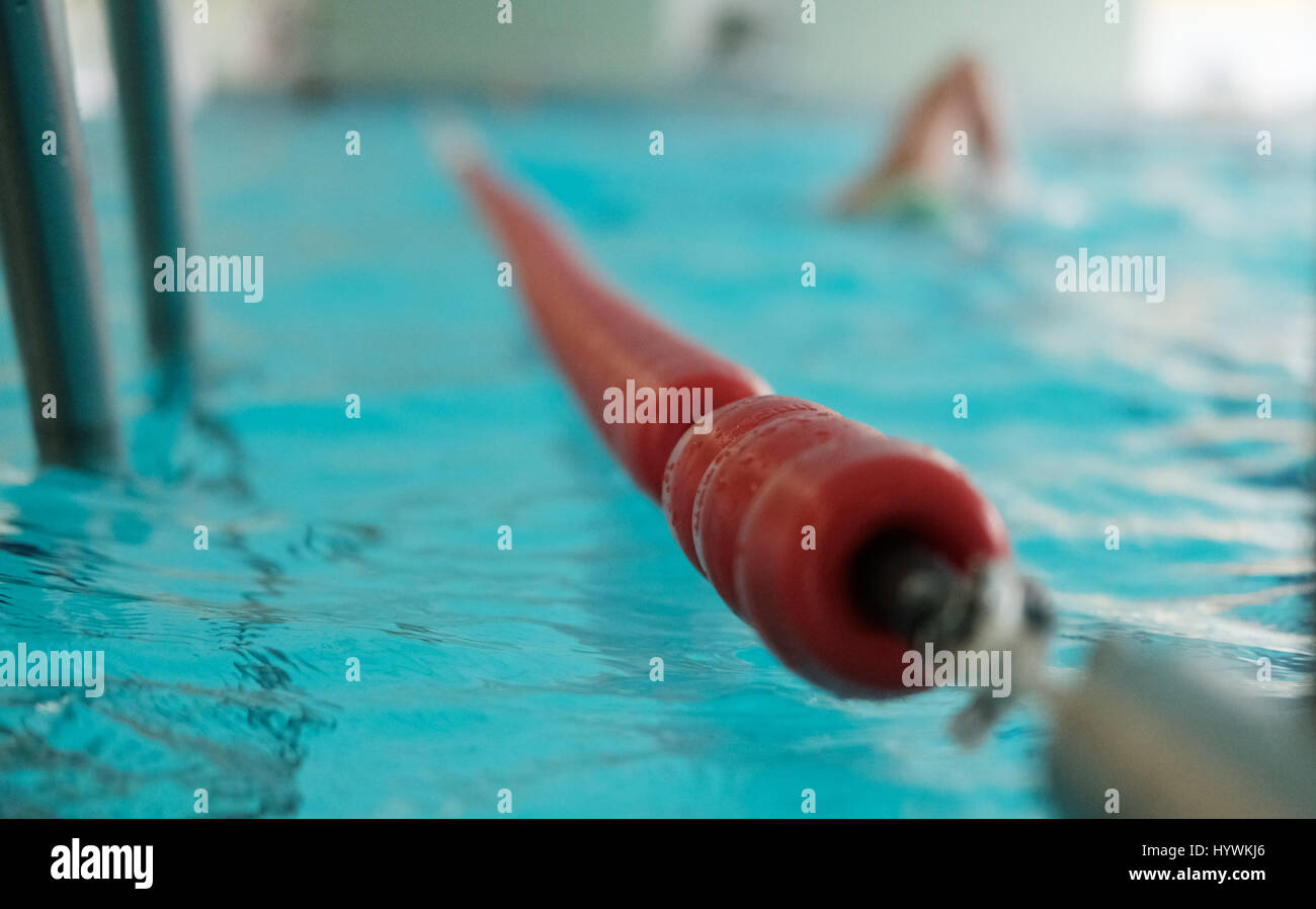 Swimming lane rope stock photos swimming lane rope stock images alamy - Swimming pool leipzig ...