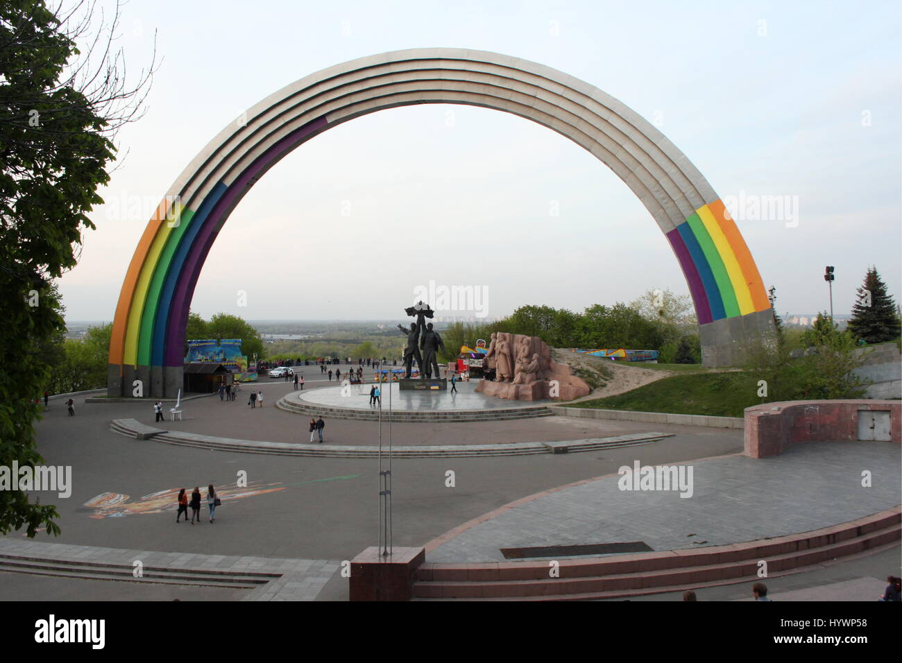 Kiev, Ukraine  26th Apr, 2017  The Arch of People's