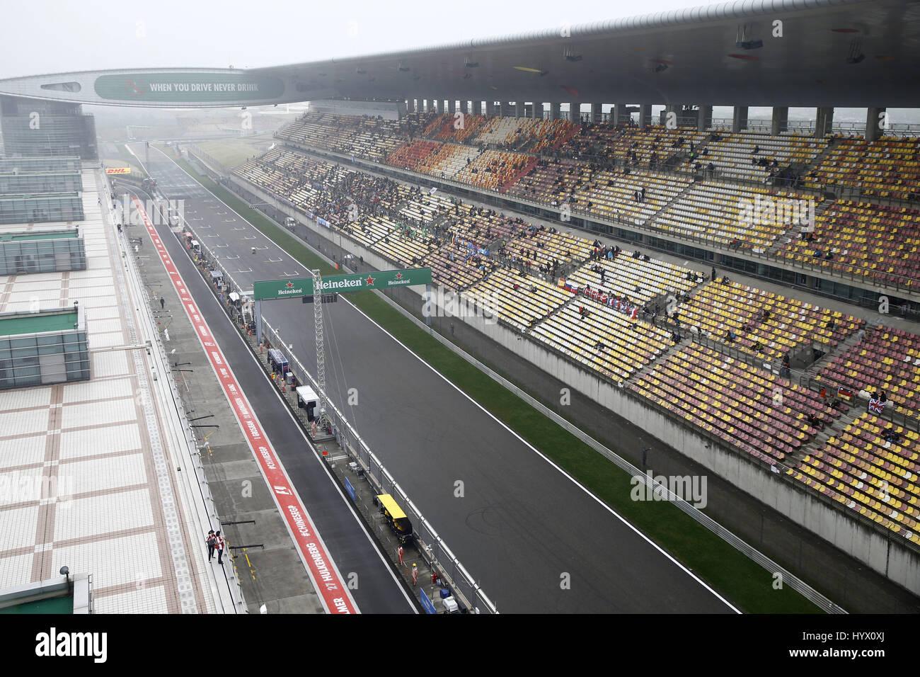 Shanghai, China. 07th Apr, 2017. Motorsports: FIA Formula One World Championship 2017, Grand Prix of AChina, | Credit: - Stock Image