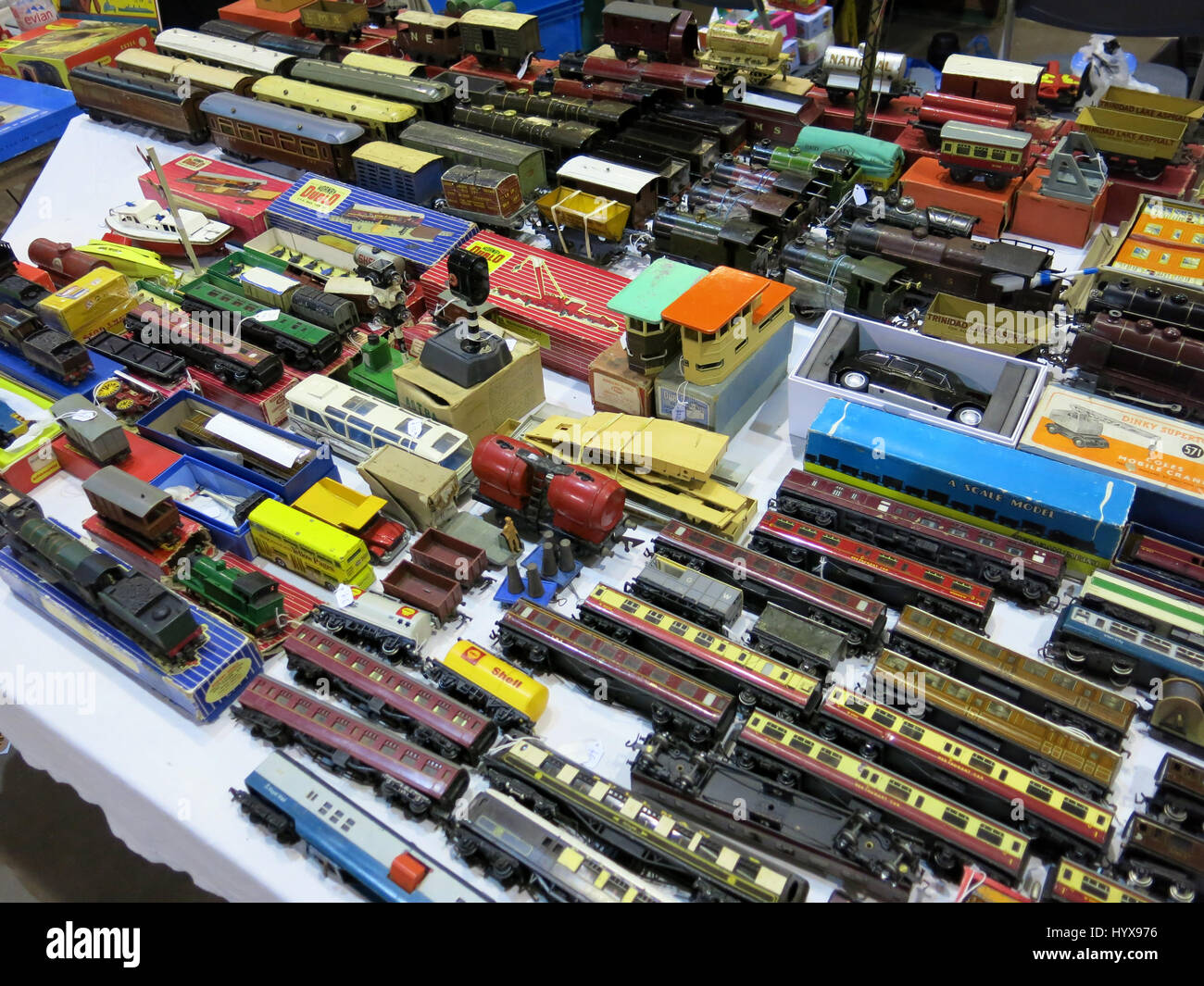Model Train Accessories High Resolution Stock Photography and