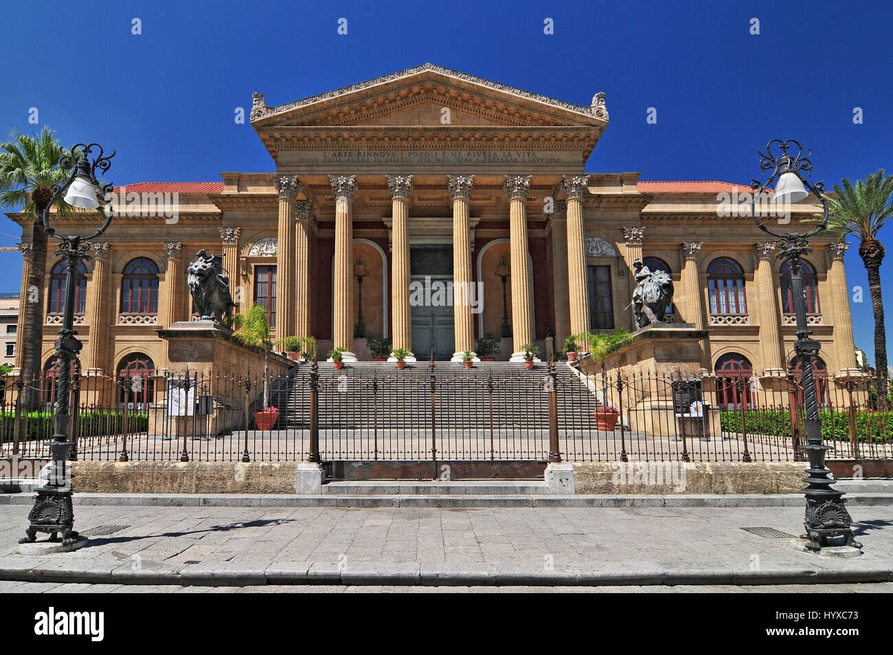 Teatro Massimo famous opera house on the Piazza Verdi in ...