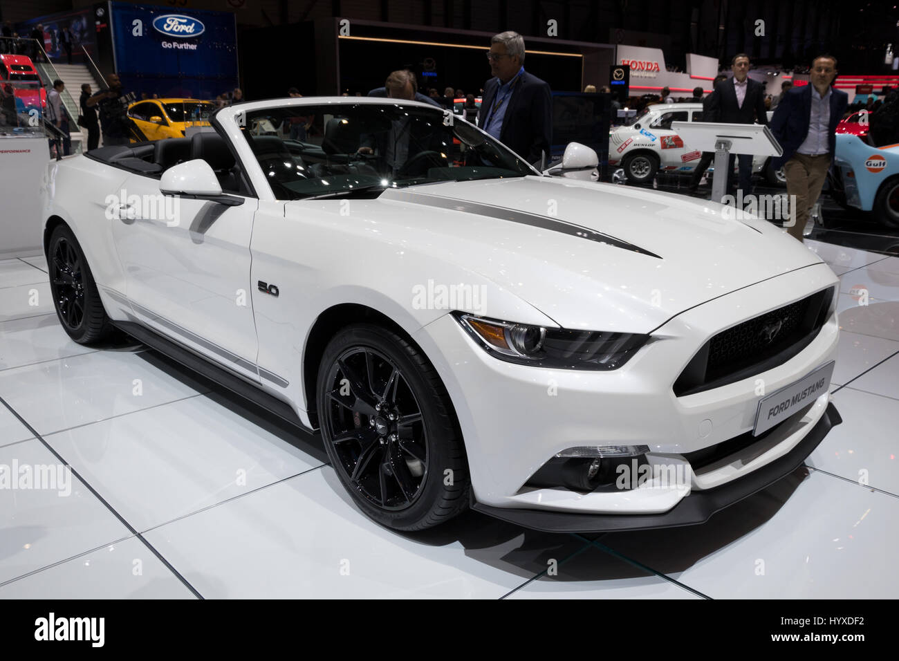 c61396840d Sports Car Ford Mustang Convertible Stock Photos   Sports Car Ford ...