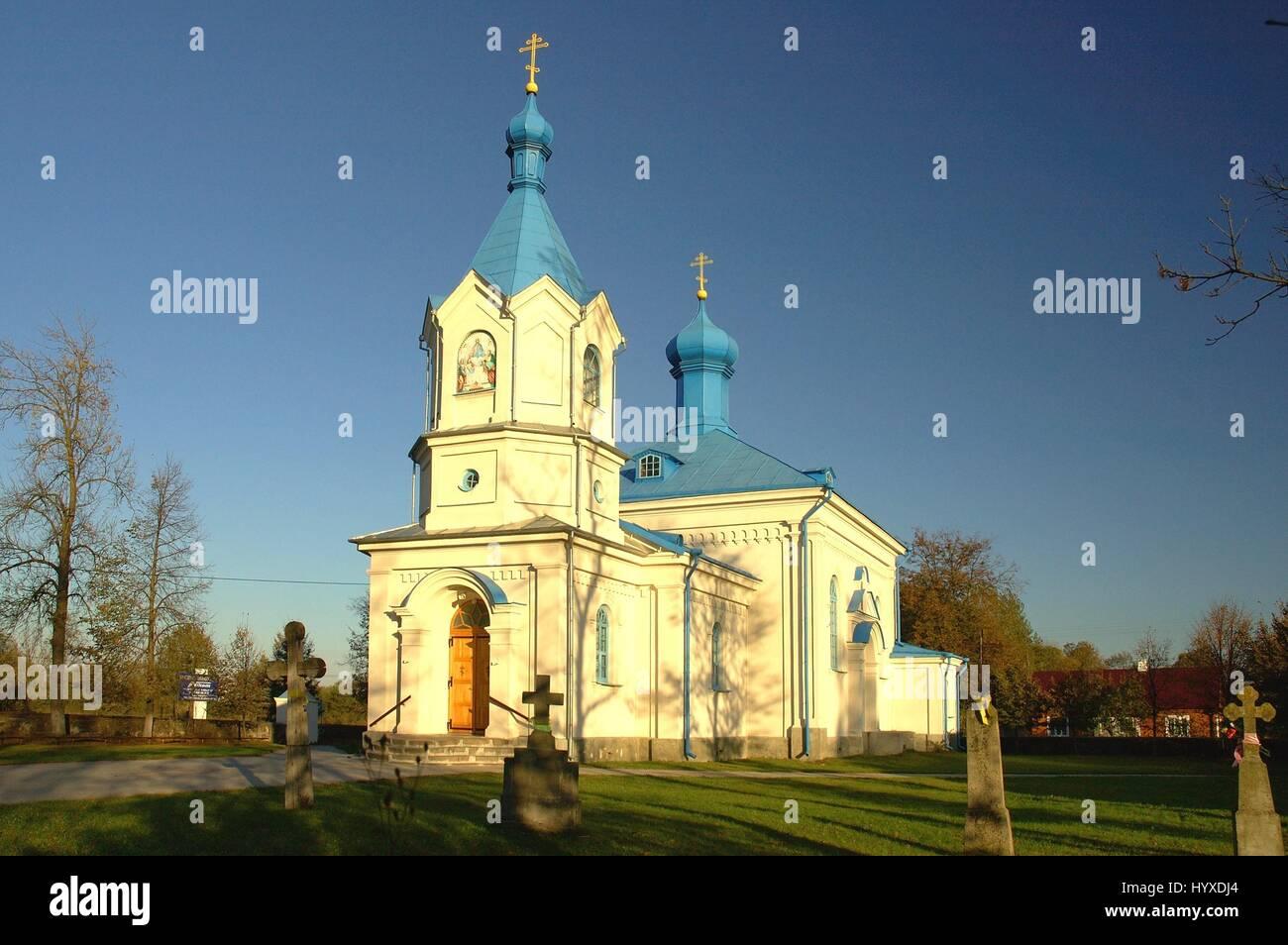 Poland, Hajnowka, Orthodox Church - Stock Image
