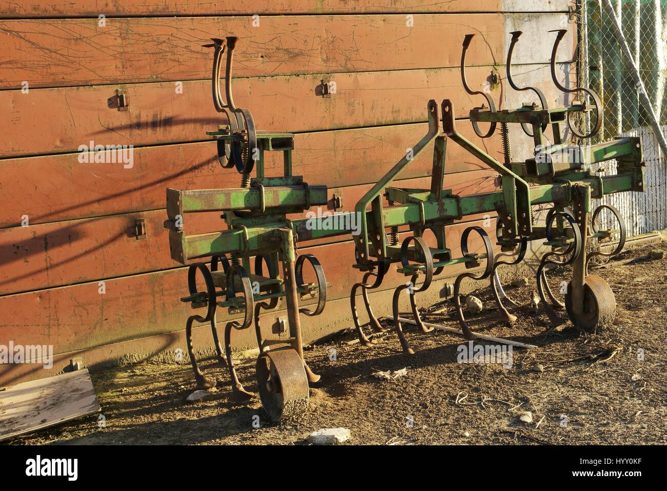 Agricultural machinery accessories - Stock Image