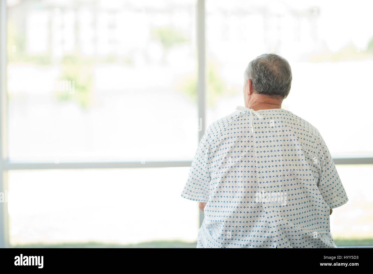 Man And Hospital Gown And Rear View Stock Photos & Man And Hospital ...