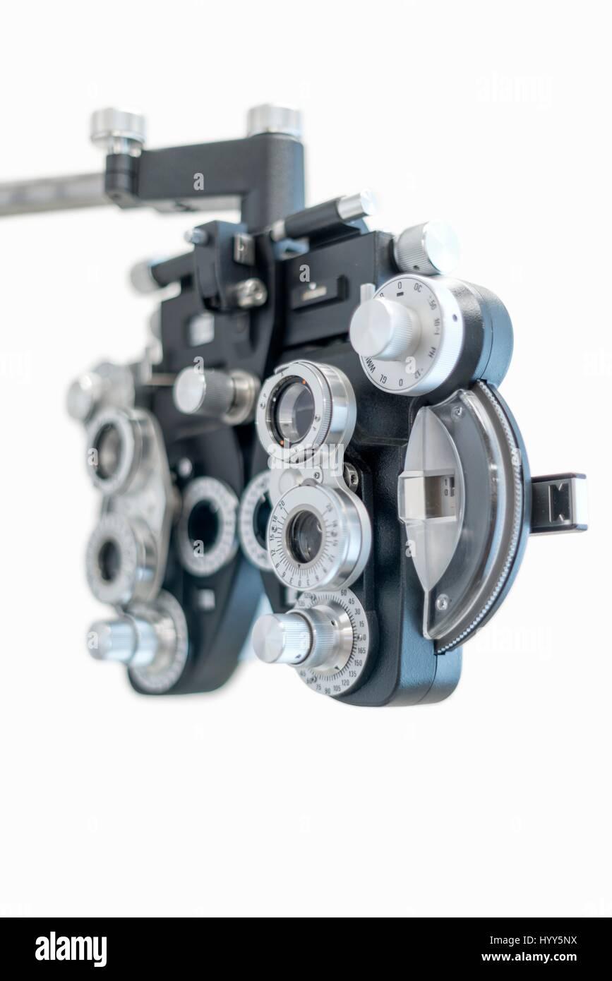 Eyesight testing spectacles. - Stock Image