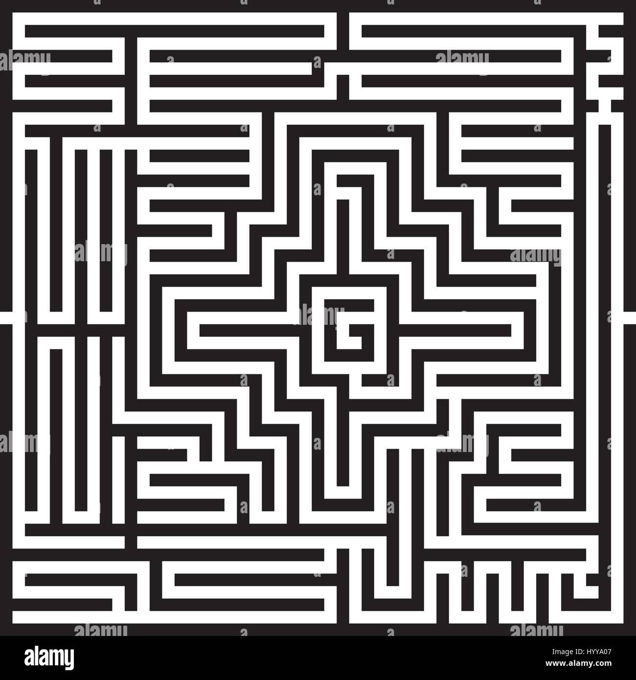 Labyrinth - Stock Image