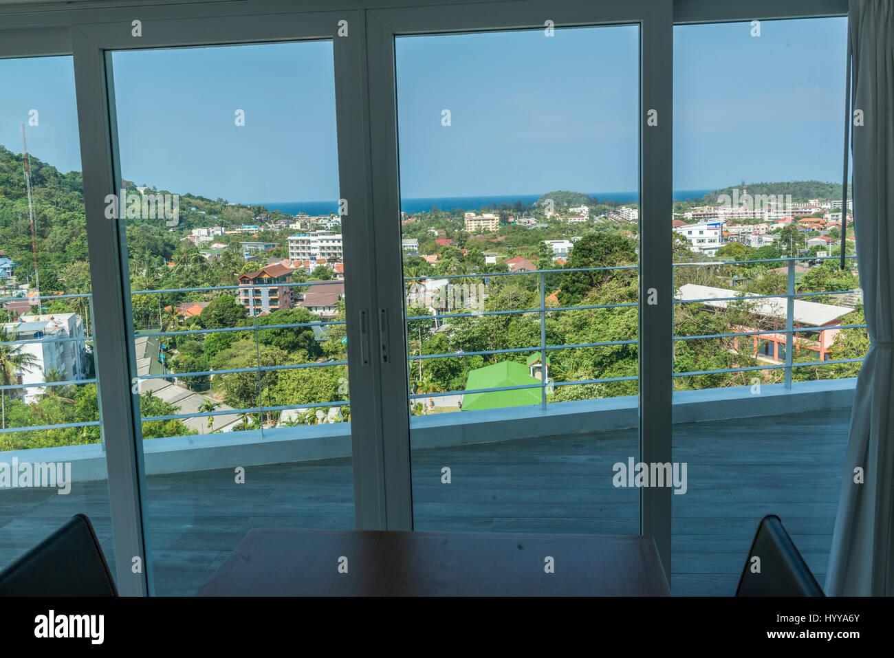 Luxurious properties in Phuket, Thailand. 09-Mar-2017 - Stock Image