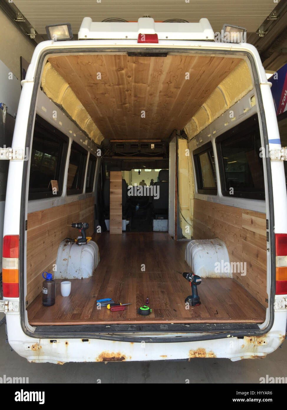 MEET The Couple Who Shunned Traditional Office Jobs And Spent 5000 Converting Their Dodge Sprinter Van Into A Home To Live Life On Road With