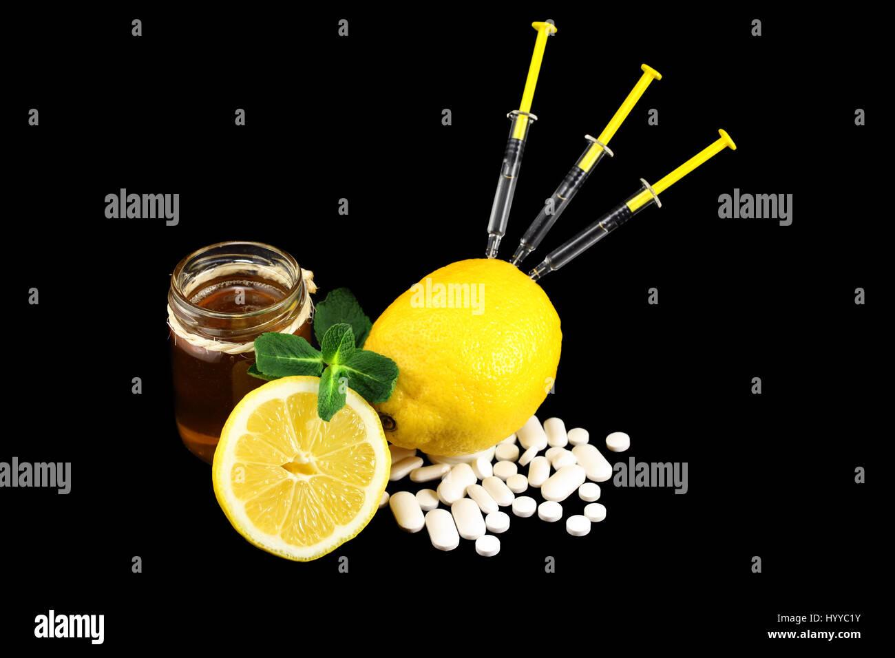 Dose of Vitamins - Stock Image