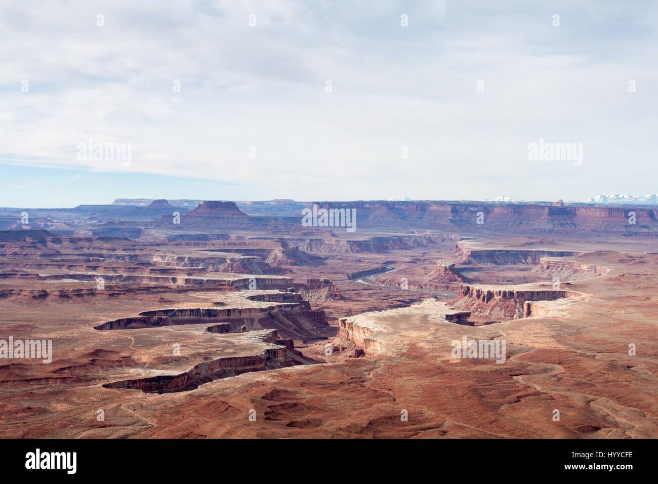 Canyonland Overlook - Stock Image