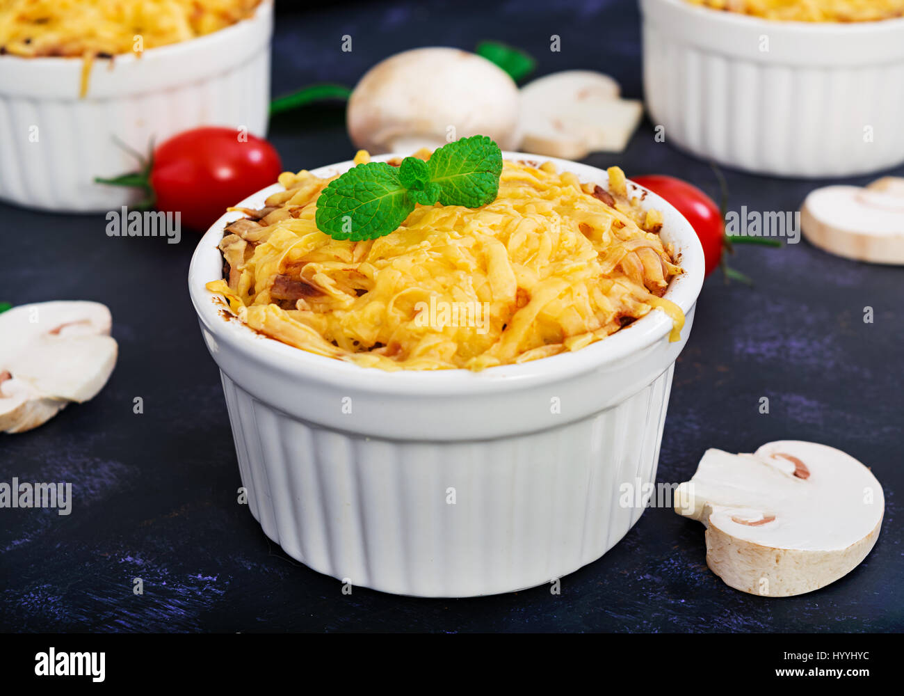 How to cook julienne with chicken