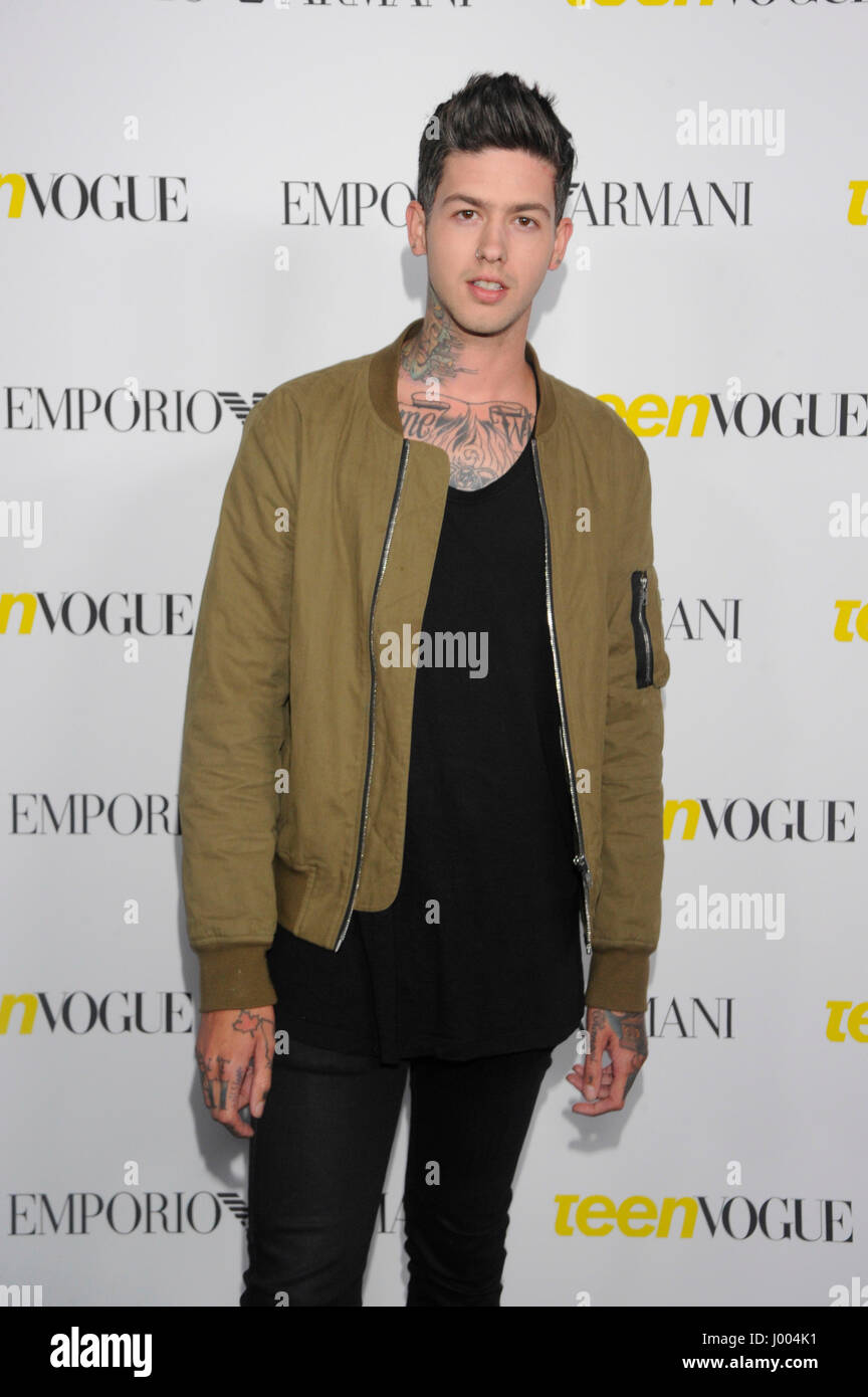 a2e1b390cc Travis Mills aka T. Mills attends the Teen Vogue Young Hollywood Issue  Party on October