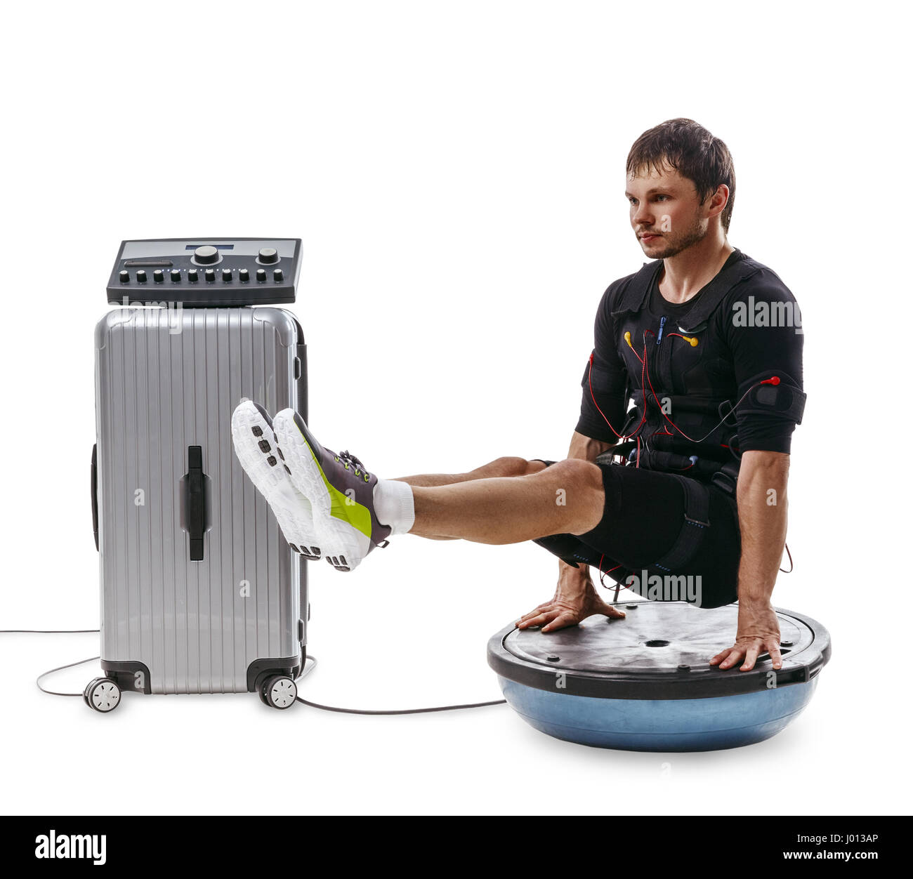 Bosu Ball Exercises For Athletes: Bosu Ball Stock Photos & Bosu Ball Stock Images