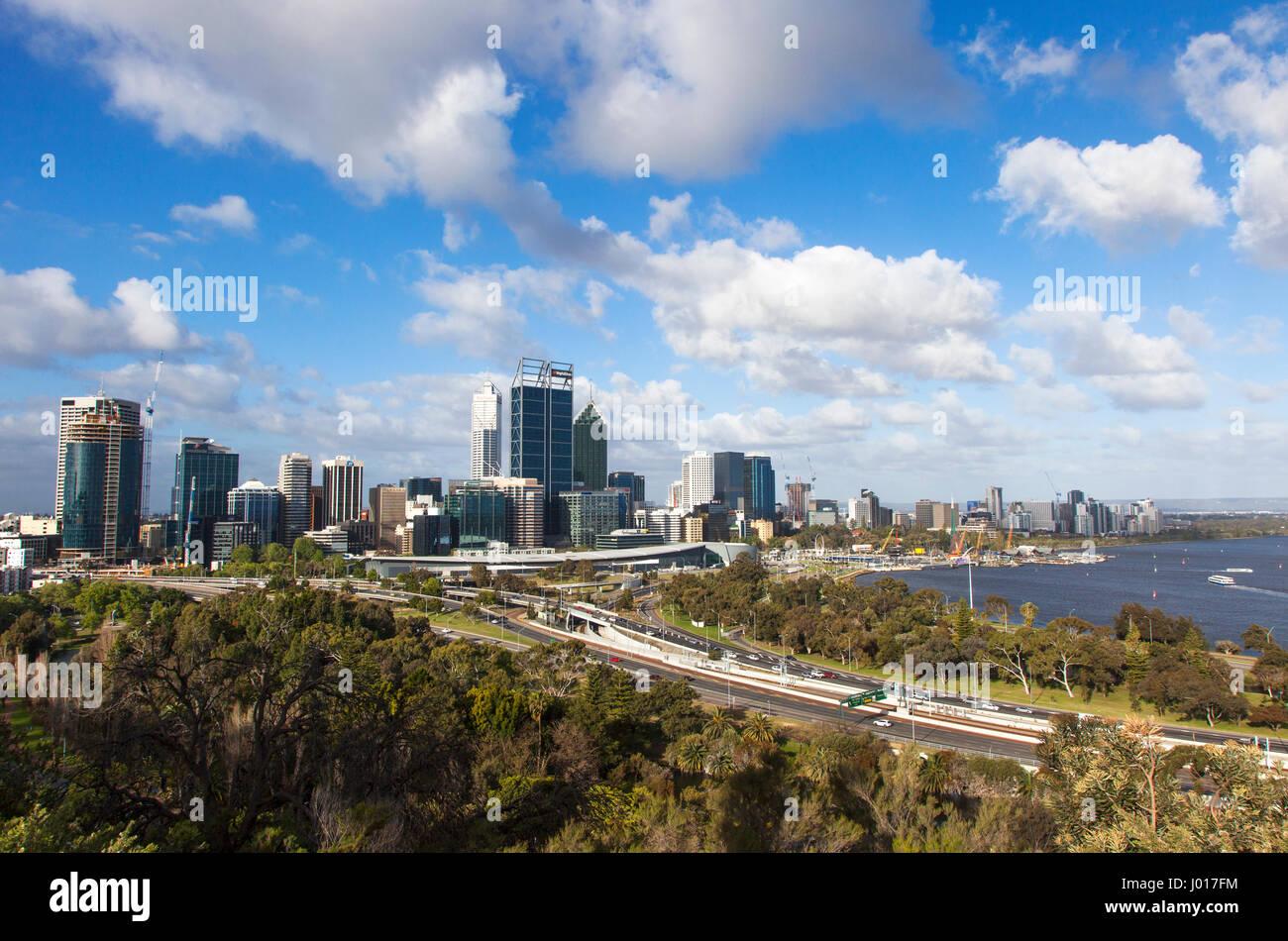 The City of Perth, Australia Stock Photo