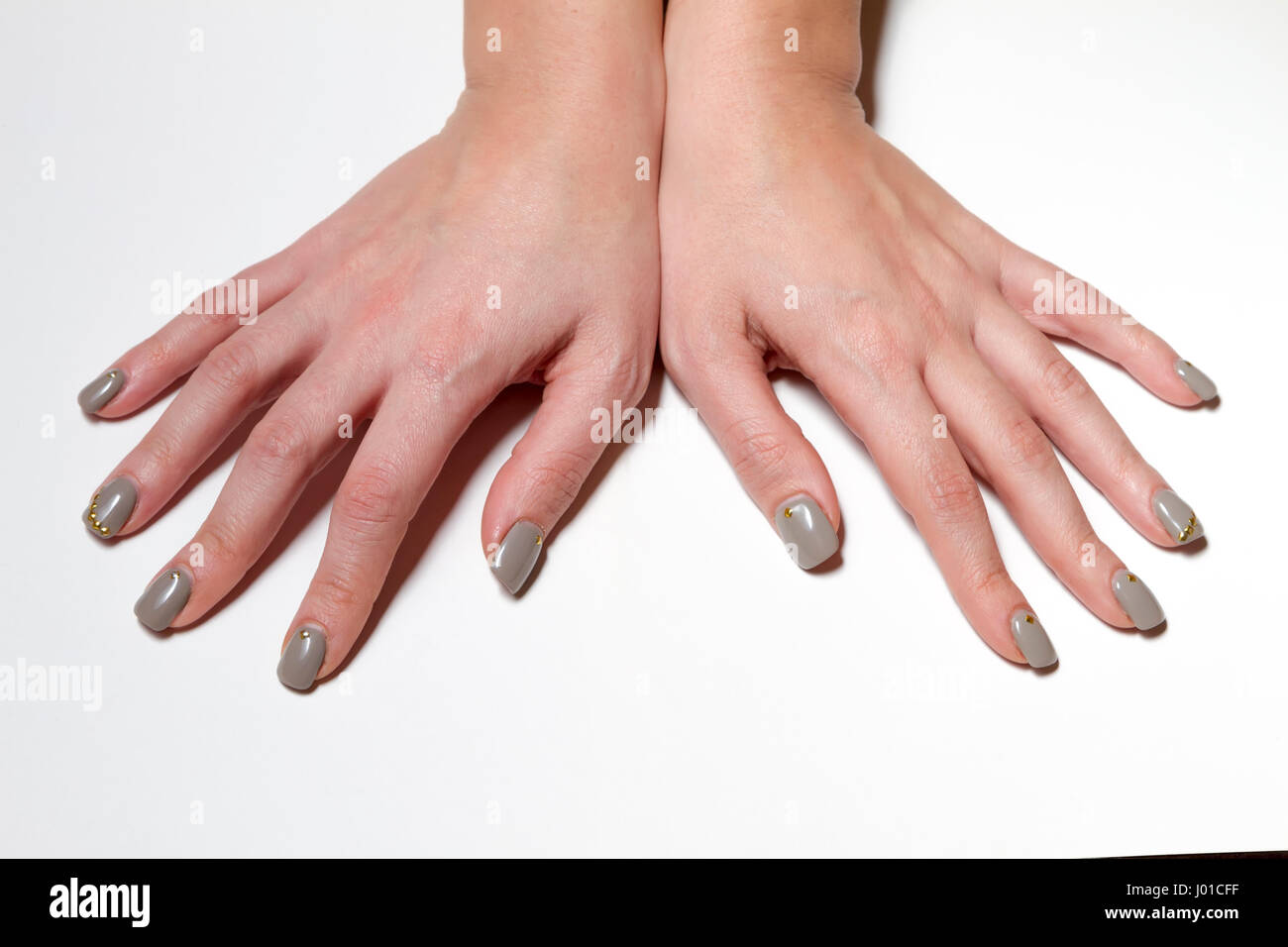 Manicure - Beauty treatment photo of nice manicured fingernails ...