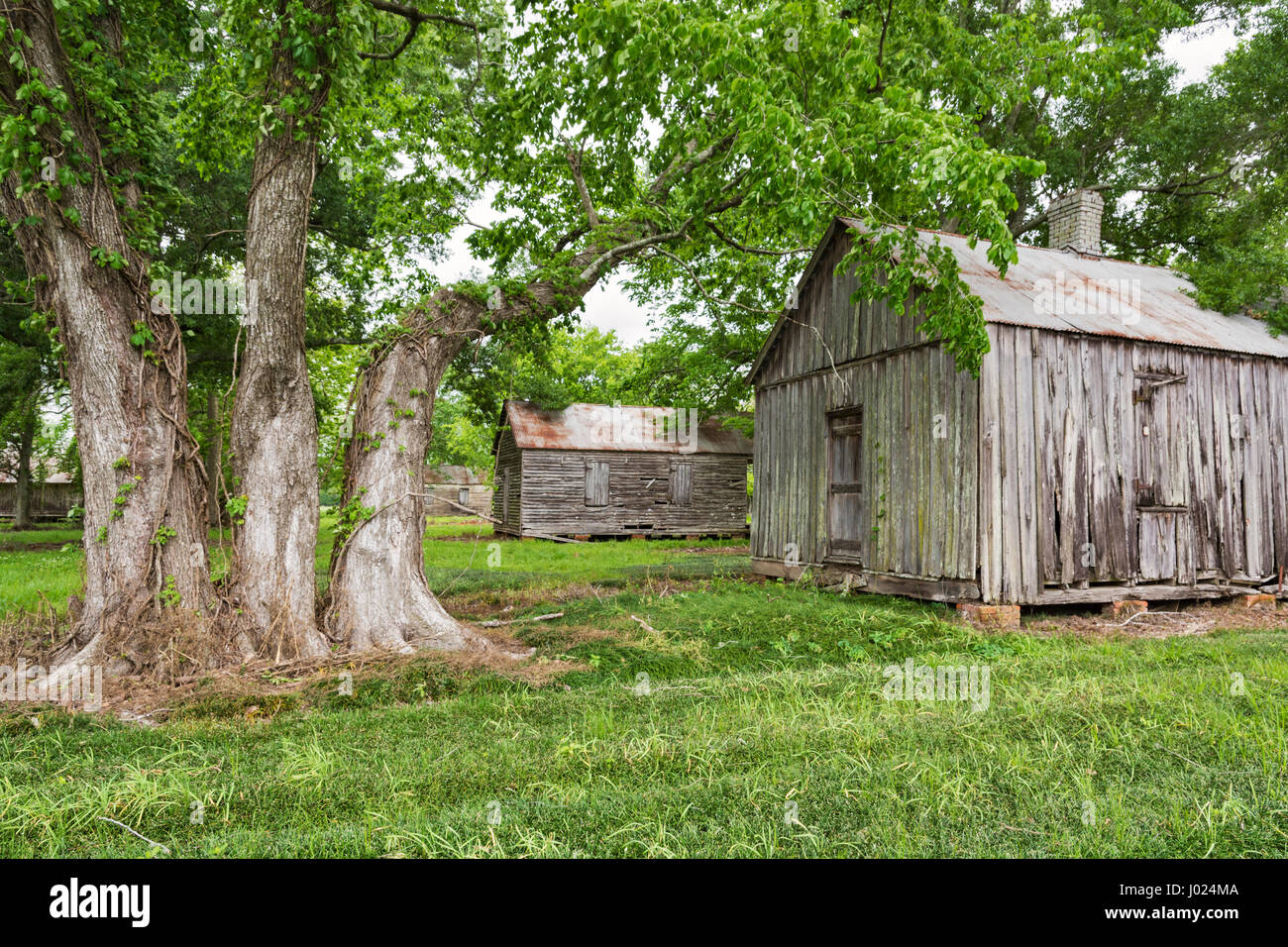 Louisiana, Thibodaux, Laurel Valley Village, sugar plantation museum - Stock Image