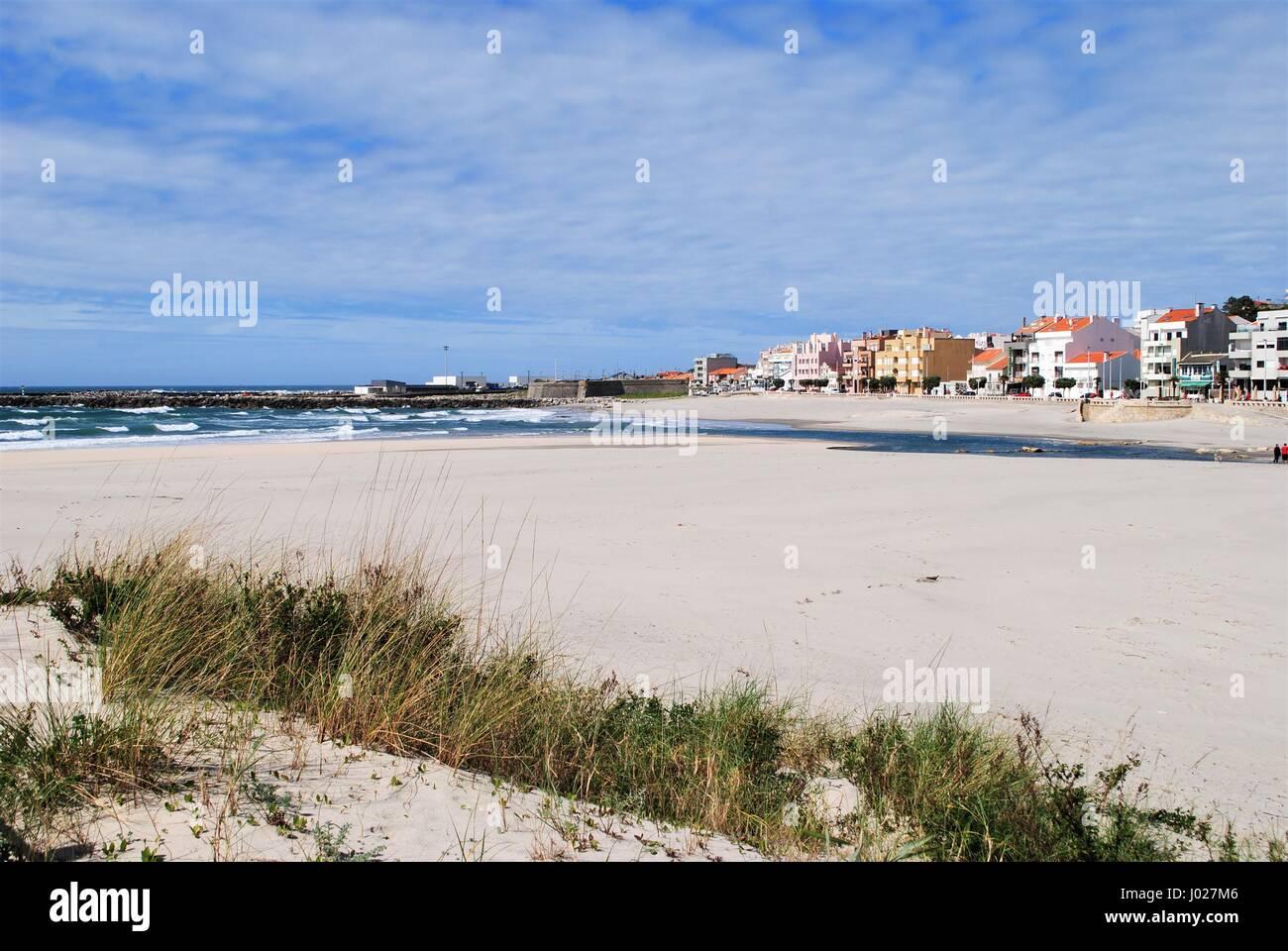 Vila Praia de Âncora, Portugal city - Stock Image