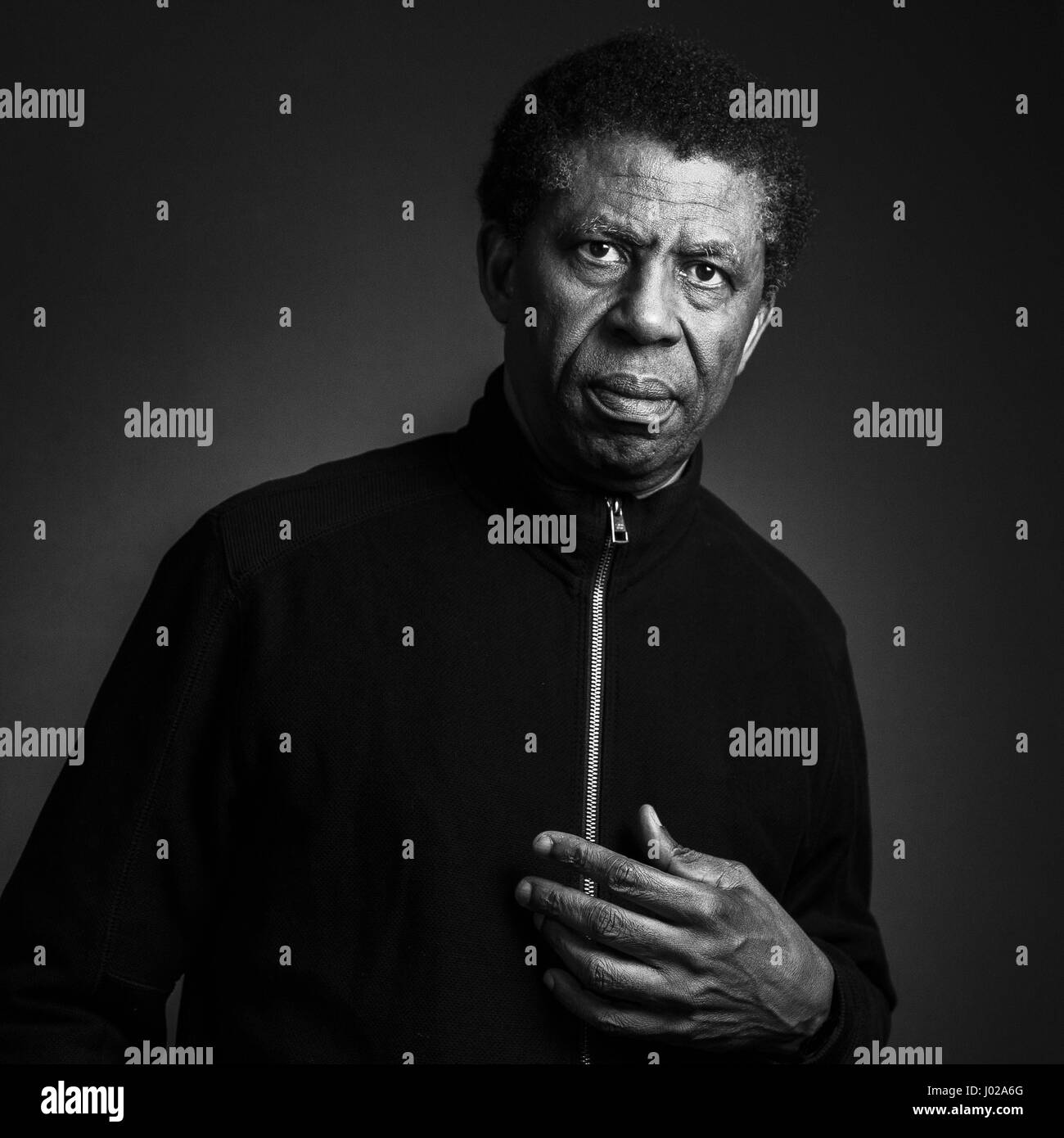 Portrait of Dany Laferriere 22/03/15 ©Philippe MATSAS/Opale Stock ...