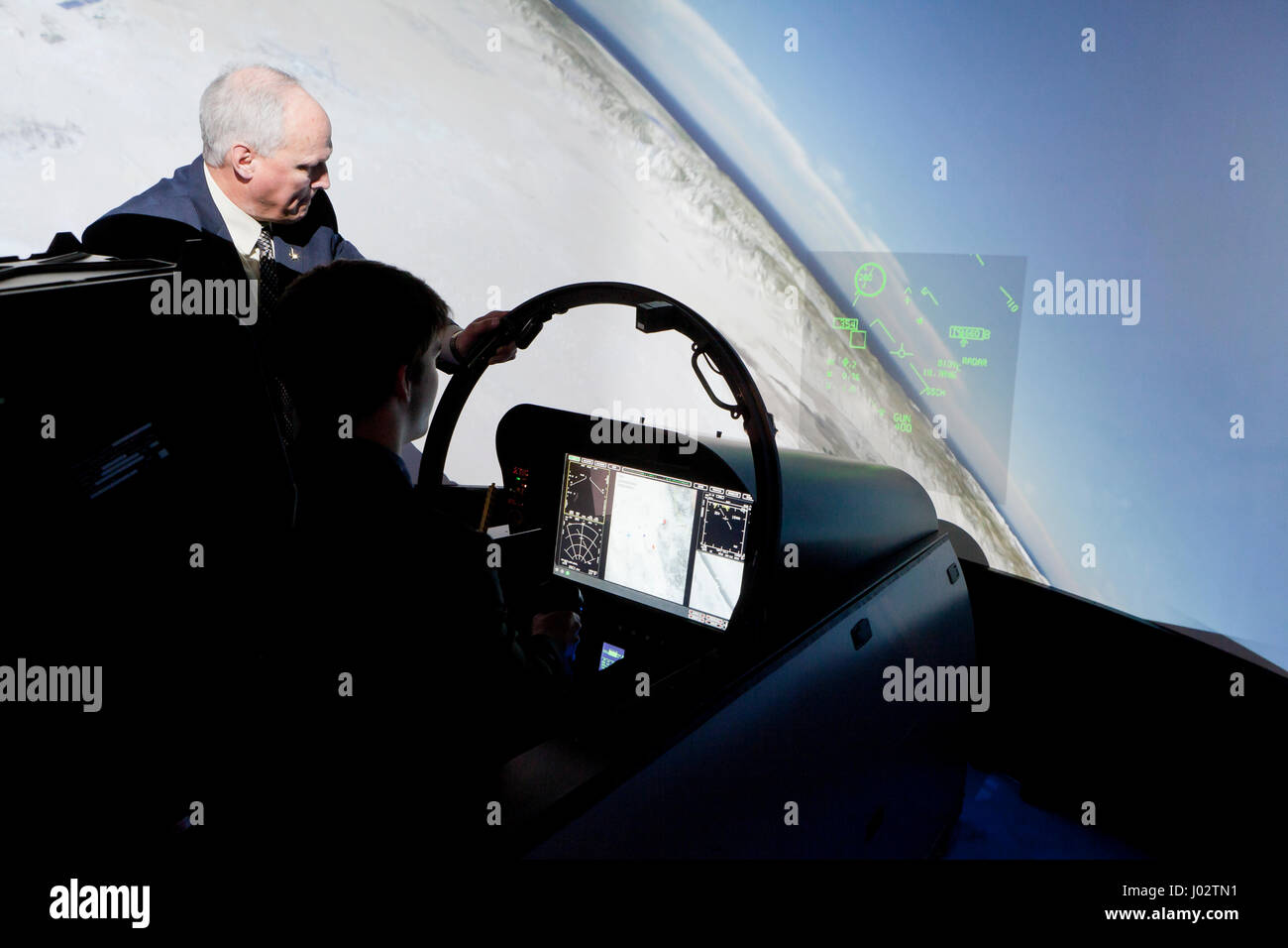 Boeing Cockpit Stock Photos & Boeing Cockpit Stock Images
