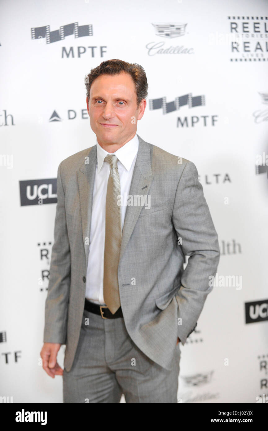 Actor Tony Goldwyn attends the 4th Annual 'Reel Stories, Real Lives', benefiting the Motion Picture & - Stock Image