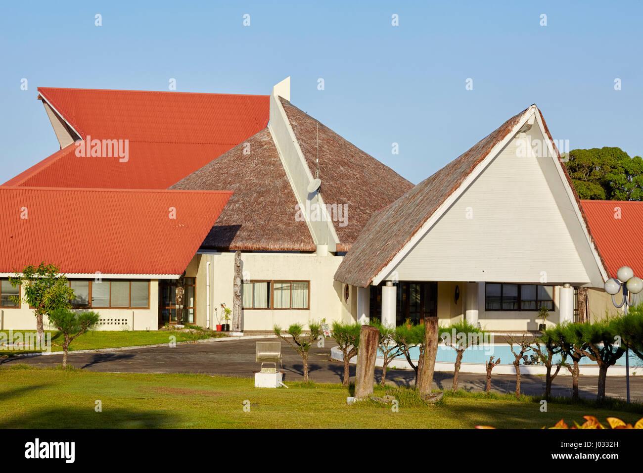 Parliament House, Port Vila, Efate Island, Vanuatu - Stock Image