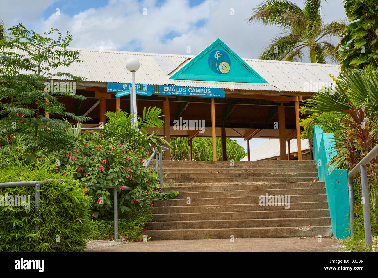 University of South Pacific, Emalus Campus, Efate Island, Vanuatu - Stock Image