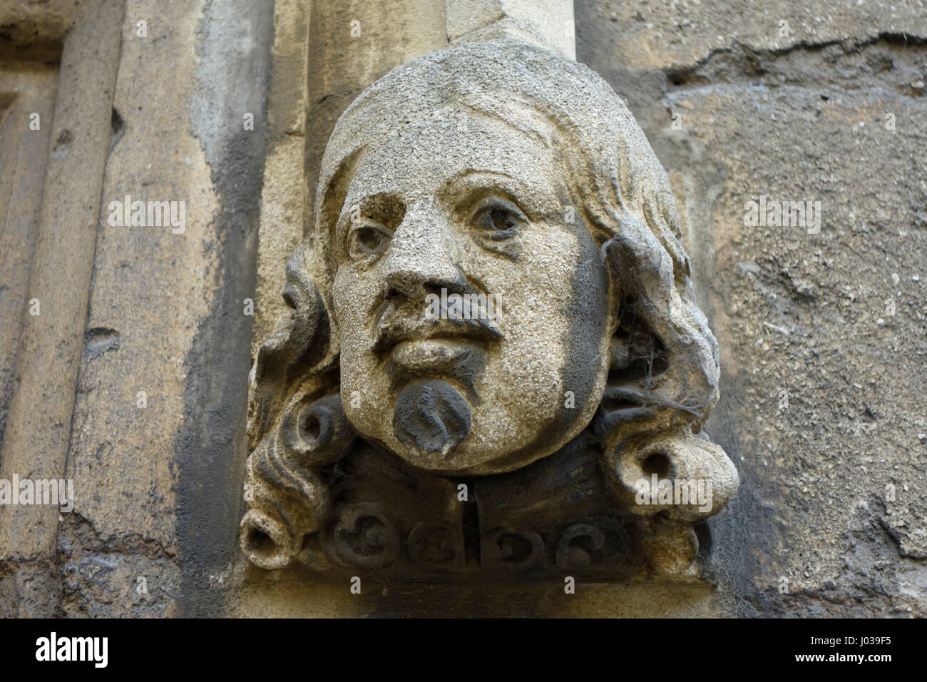 Gargoyle, Oxford University - Stock Image
